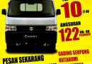 Paket Kredit TDP 10jt Suzuki New Carry Pick Up